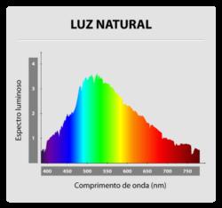 Gráfico IRC - Luz Natural