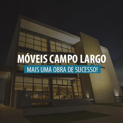 Obra 100% LED: Loja Campo Largo