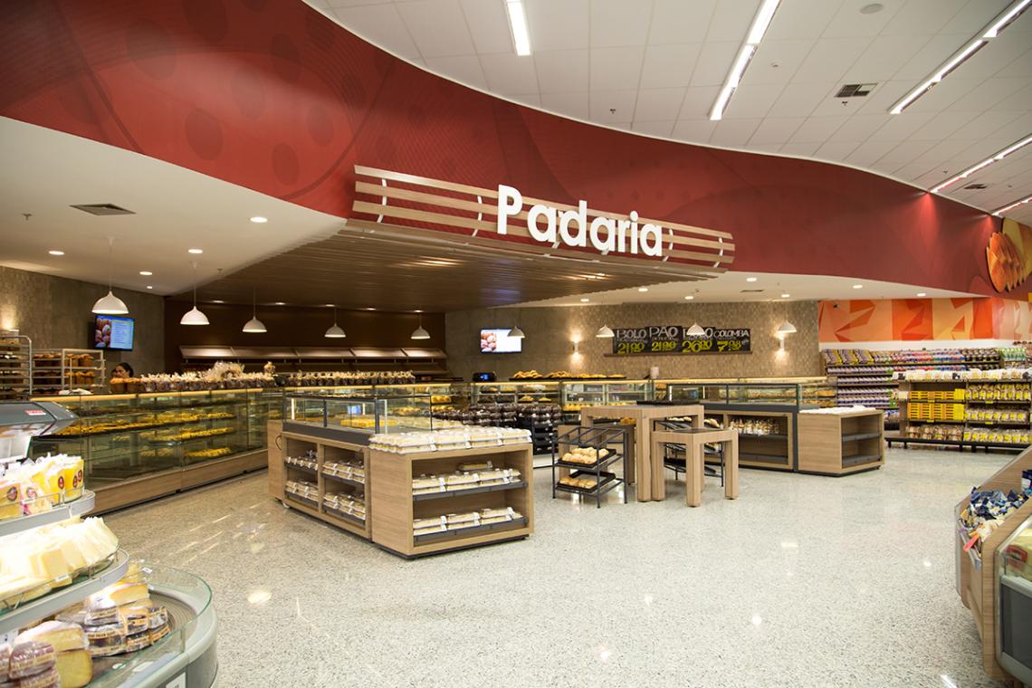 Obra Lumicenter: Supermercado Good Bom - SP