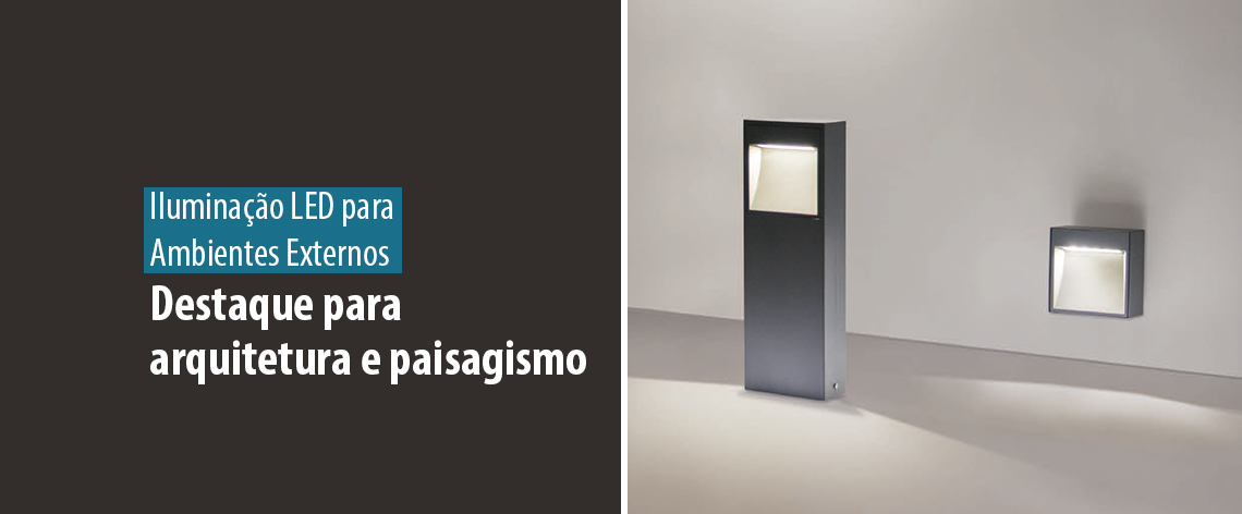 Lumicenter - Iluminação LED para Ambientes Externos - Destaque para a arquitetura e paisagismo