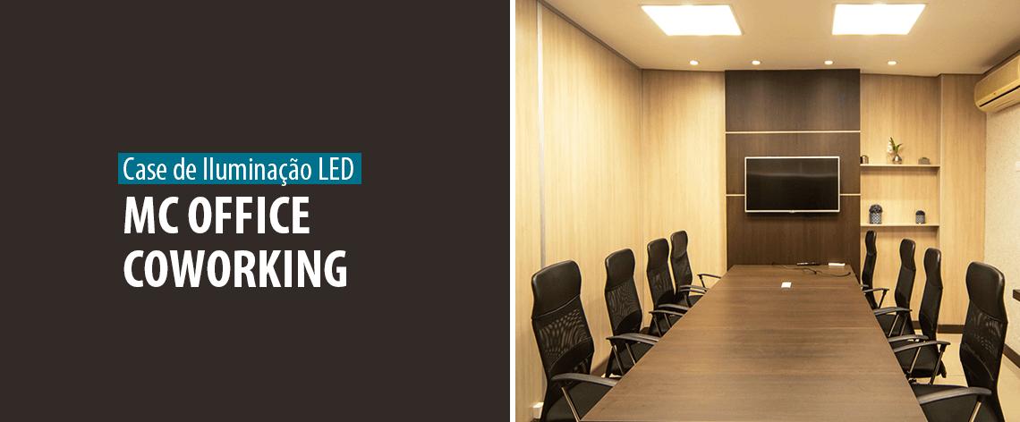 Destaque - Case de Sucesso - Lumicenter Lighting transforma a iluminação do Mc Office Coworking - Banner Blog