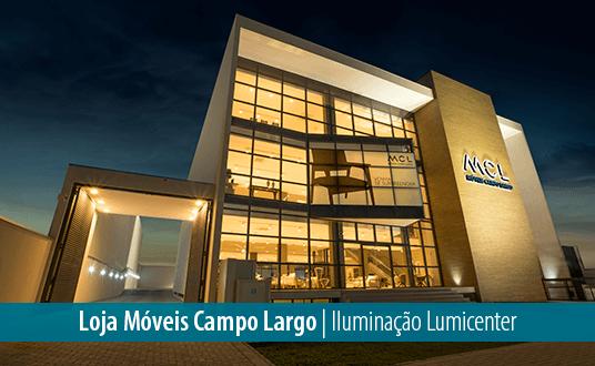 Lumicenter - Iluminação LED para Varejo - 5 motivos para trocar sua iluminação - Loja Móveis Campo Largo - Iluminação Lumicenter