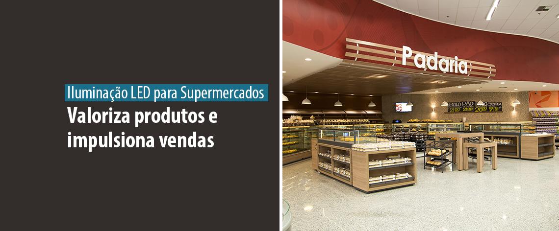 Case de Sucesso - Iluminação LED para Supermercados