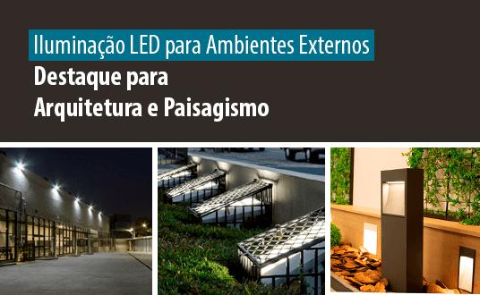 Lumicenter - Iluminação LED para Ambientes Externos - Destaque para Arquitetura e Paisagismo