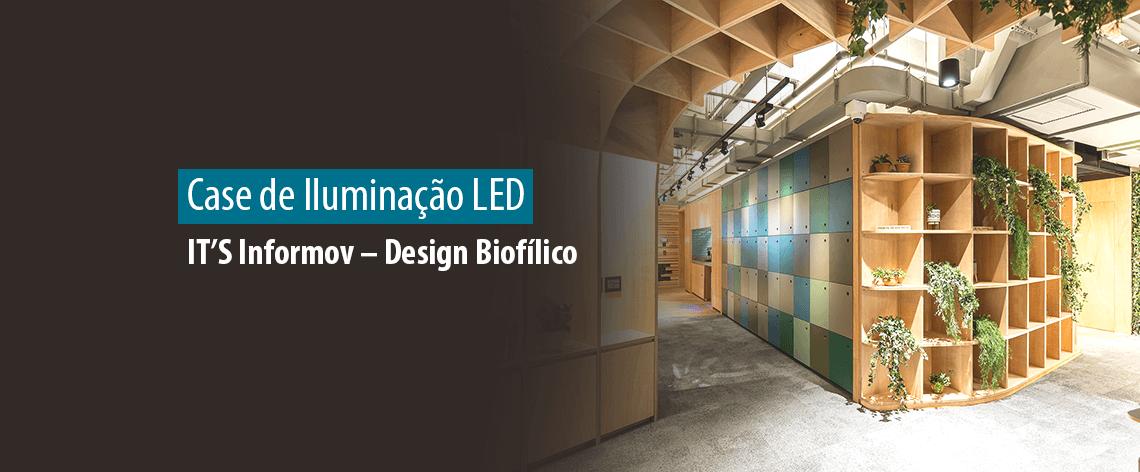 Obra LED IT'S Informov - Design Biofílico - Blog Lumicenter