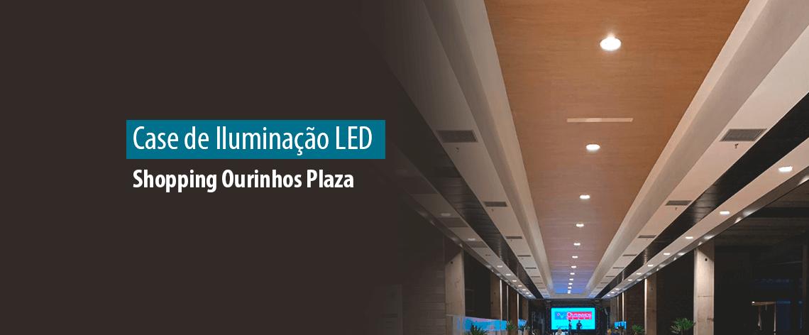 Lumicenter - Iluminação Shopping Ourinhos Plaza - Banner Blog