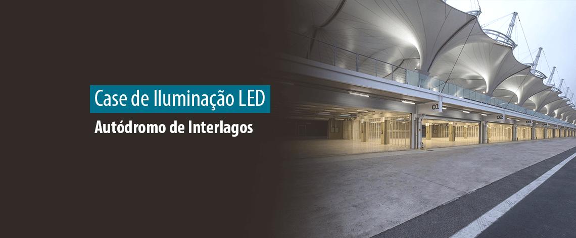 Obra 100% LED – Iluminação do Autódromo de Interlagos – São Paulo (SP)