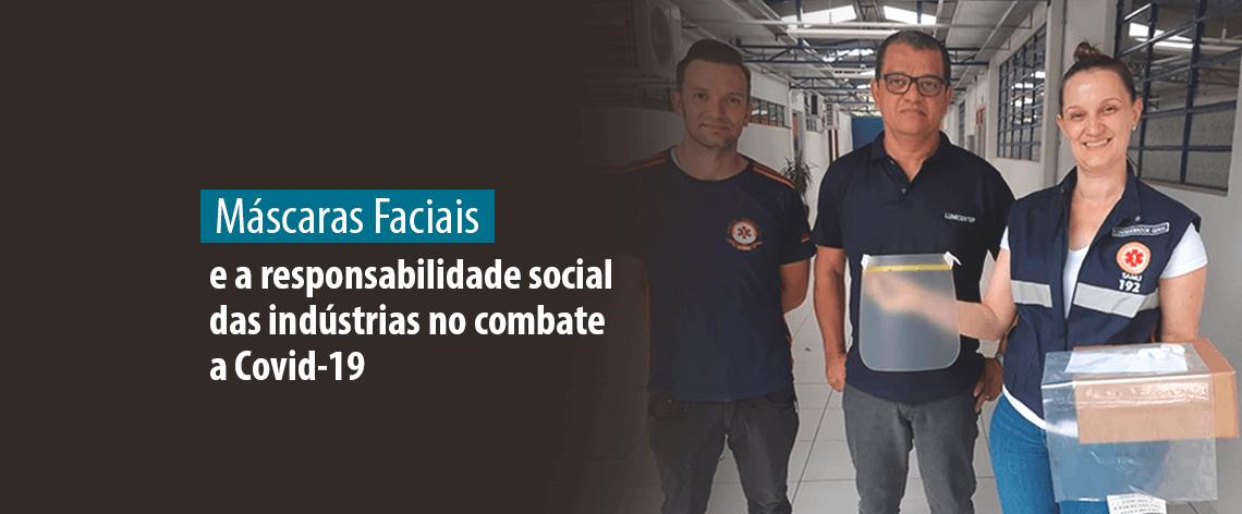 Lumicenter - Máscaras Faciais e a responsabilidade social das indústrias no combate a Covid-19 - Banner Destaque
